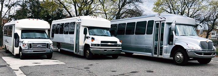 Airport Shuttle Buses and Vans